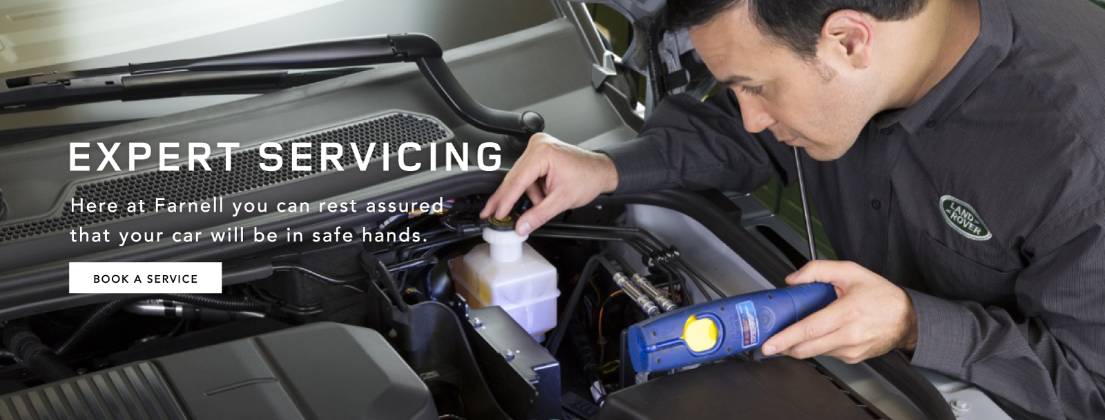 Land Rover Expert Servicing