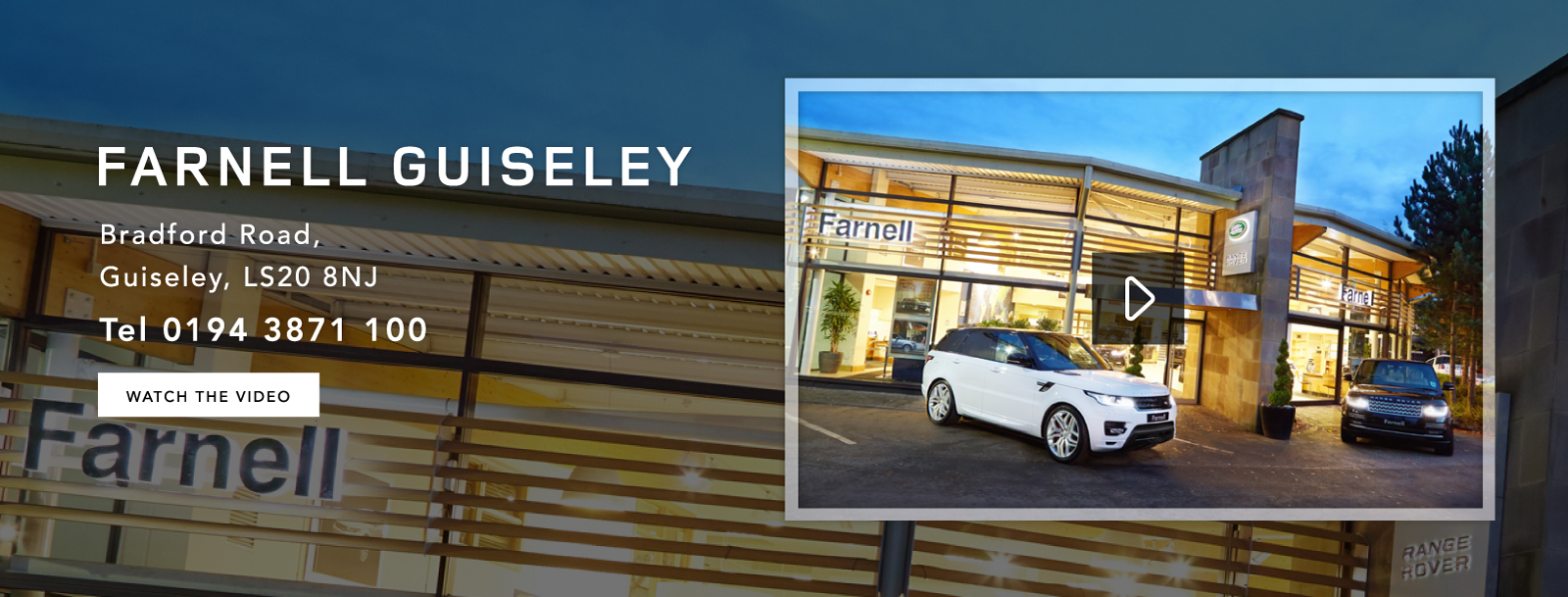 Land Rover Guiseley | New and Used Land Rover Retailers in Guiseley