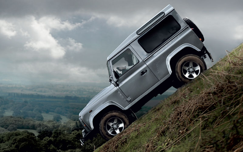 Always Ready For Action Farnell Land Rover