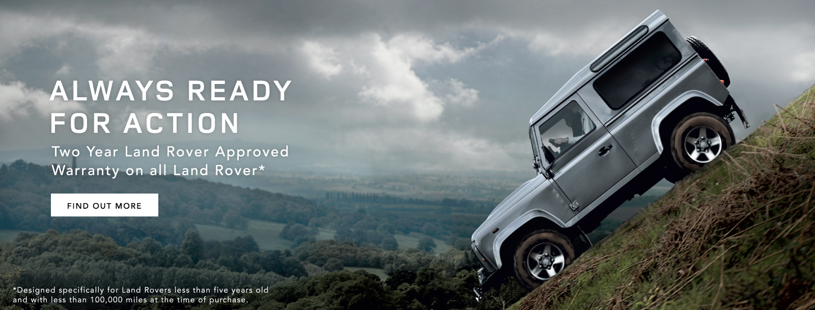 Land Rover Always Ready for Action