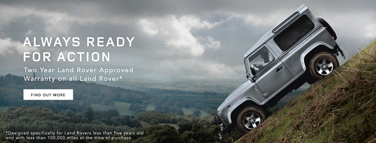 Land Rover 2 Year Warranty