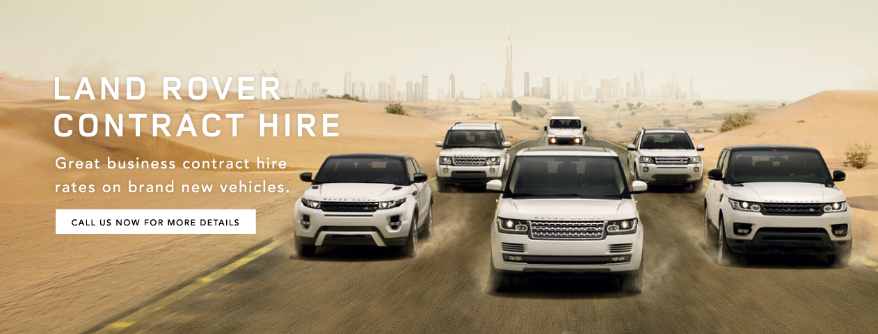 Land Rover Contract Hire Page
