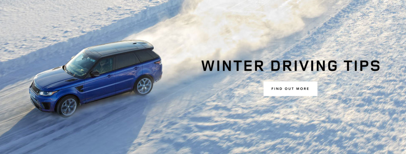 Land Rover Winter Driving Tips