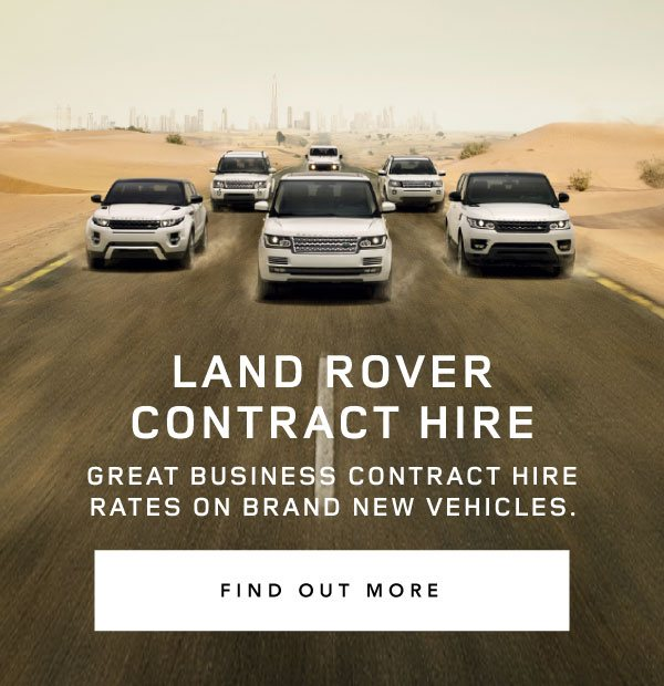 Land Rover Contract Hire