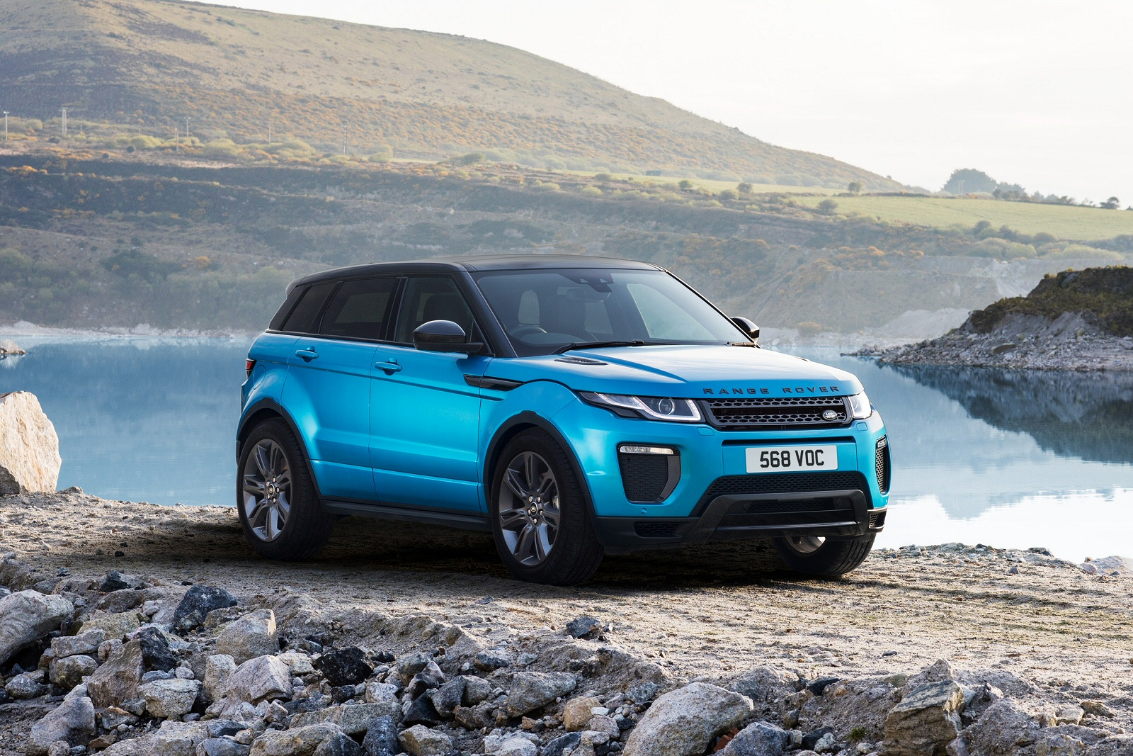 Top 5 Features of the Range Rover Evoque