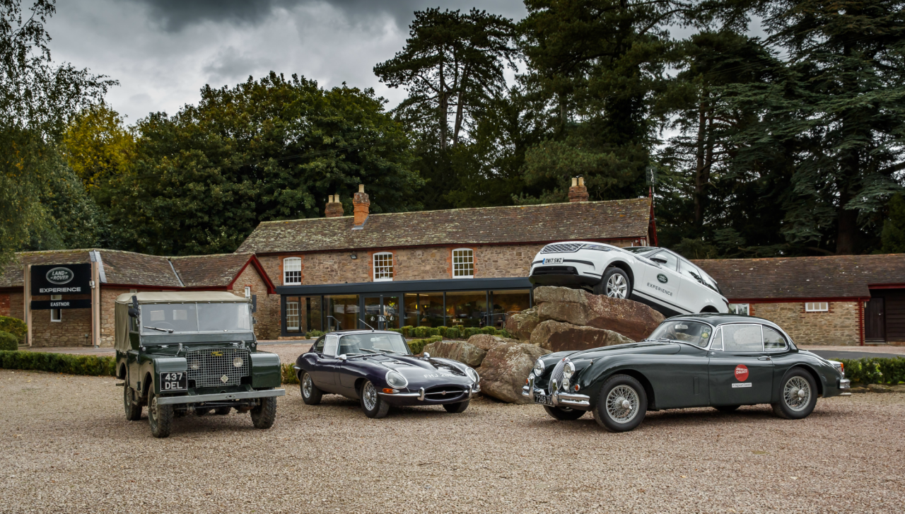 Relive Jaguar and Land Rover Legends