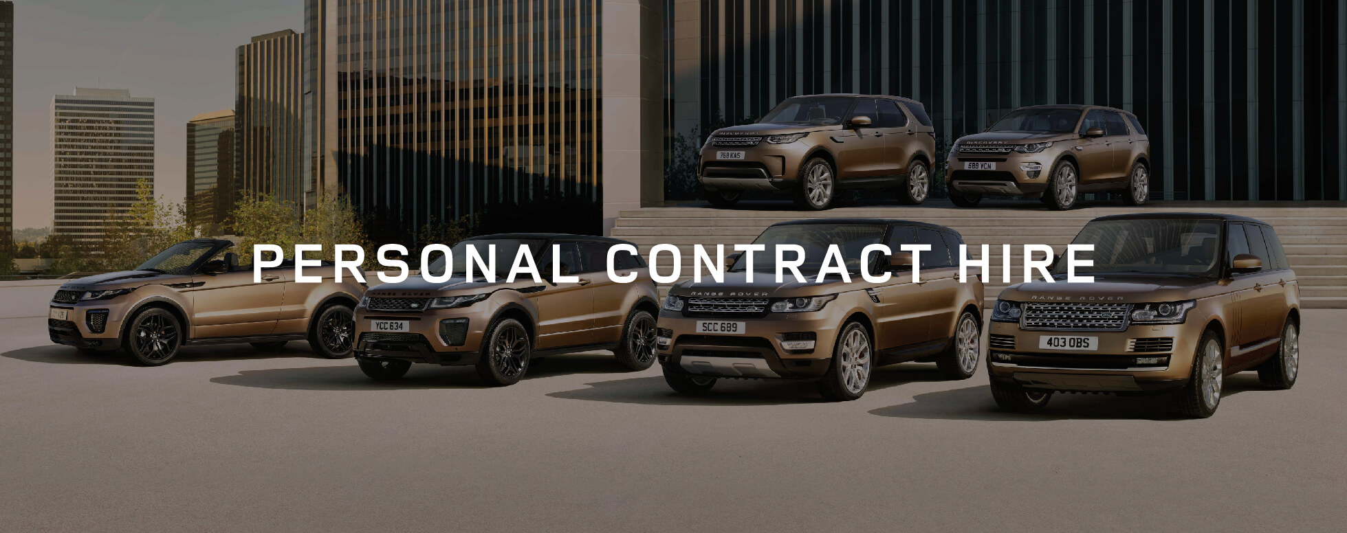 Land Rover Personal Contract Hire Offer BB