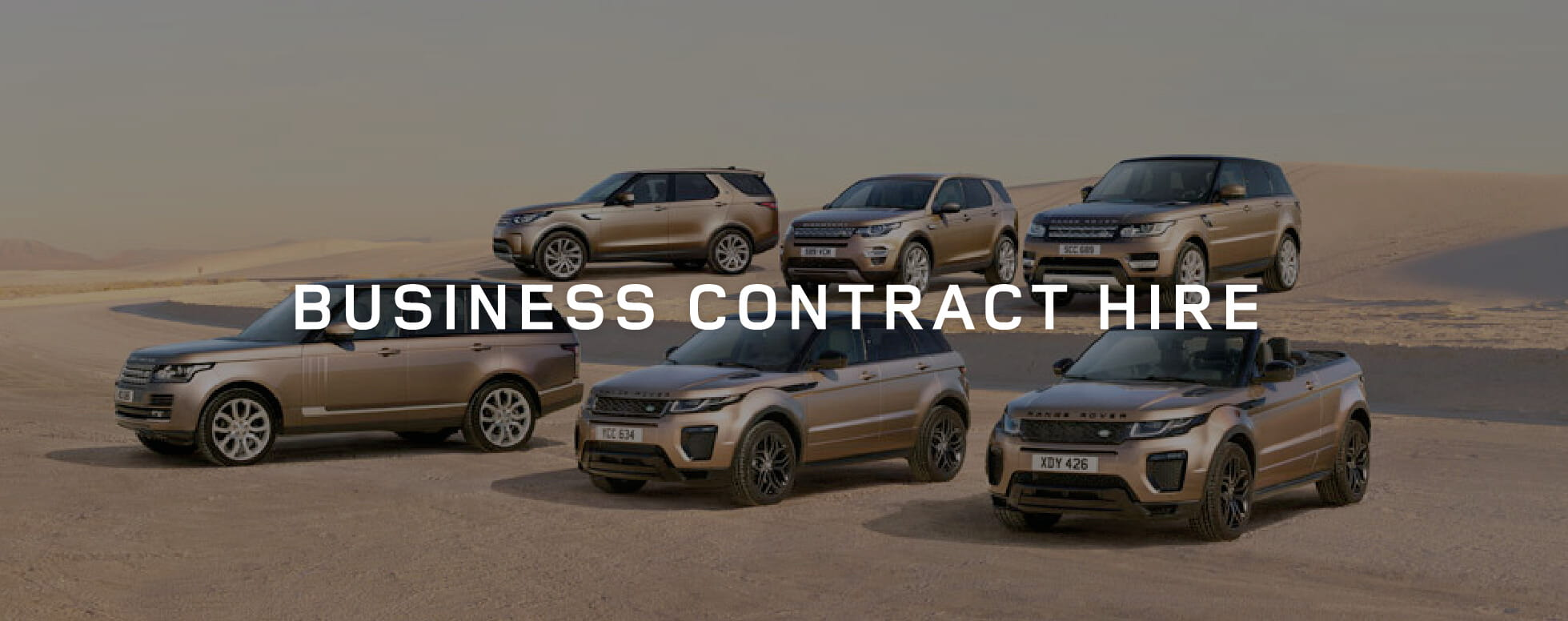 Land Rover Business Contract Hire Offer BB