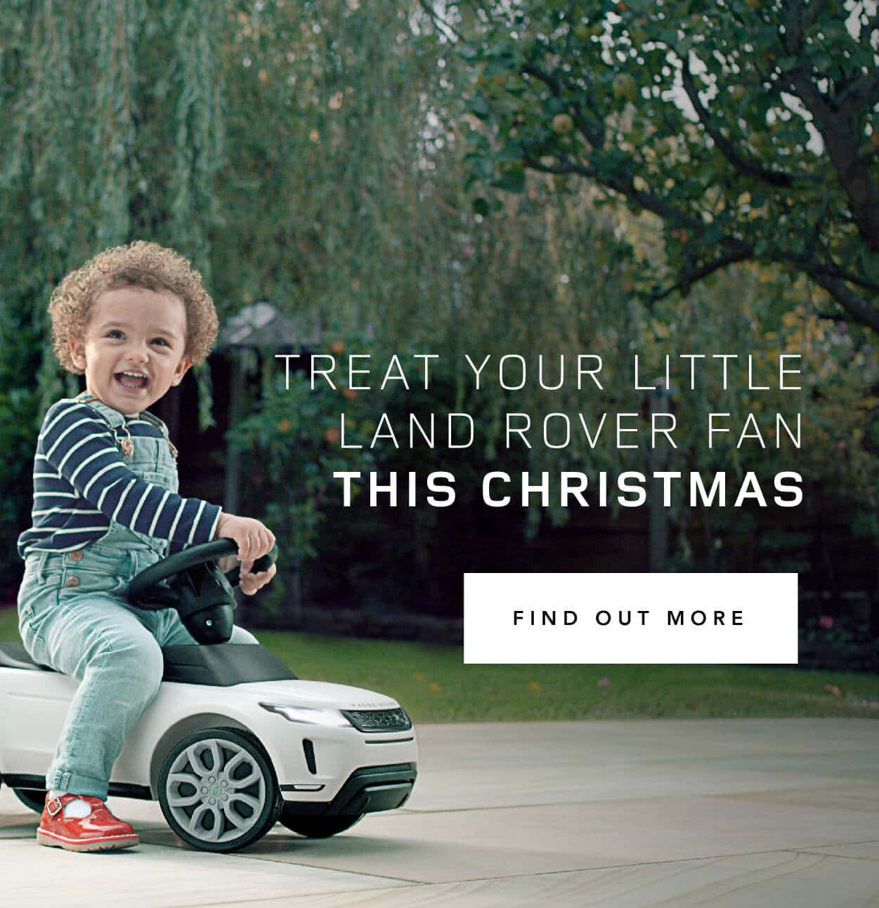 Land Rover - Treat yor Child This Christmas BB