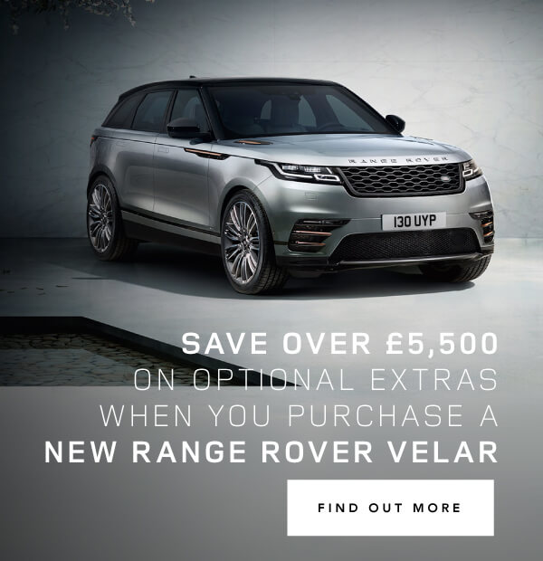 Land Rover Range Rover Velar savings on extras