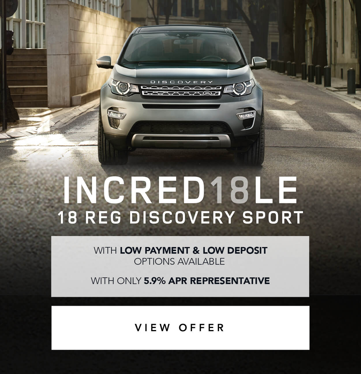 Land Rover Incredible 18 Reg Discovery Sport BB