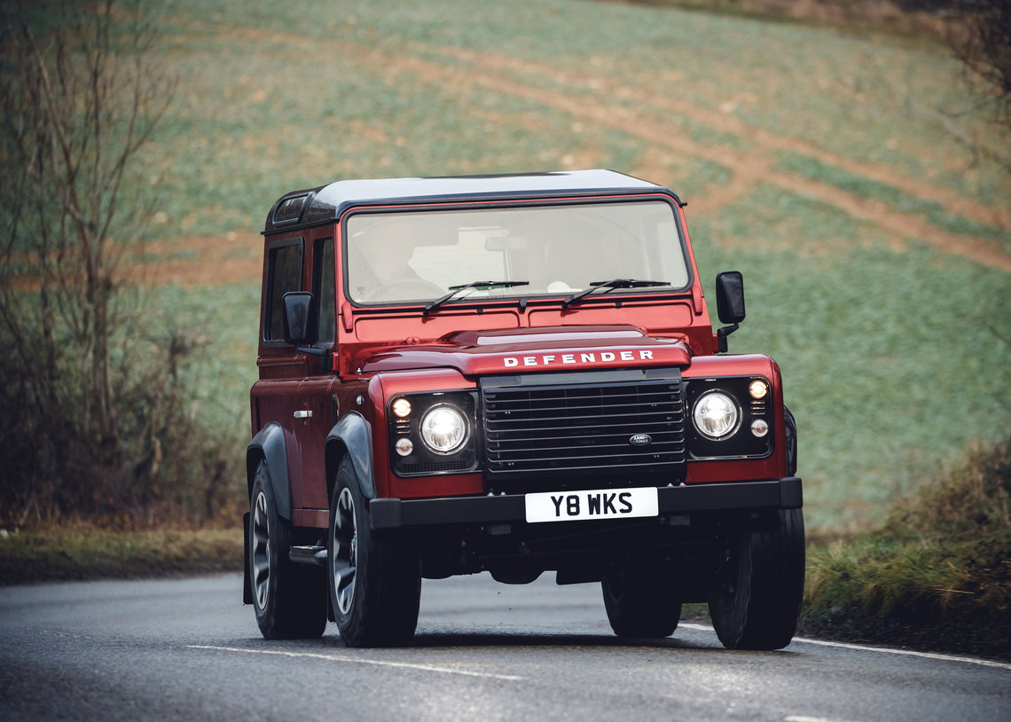 DEFENDER LIVES ON: LAND ROVER LAUNCHES V8 EDITION