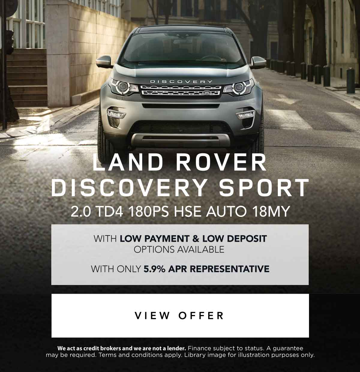 Land Rover Discovery Sport Offer 050418