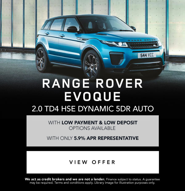 Land Rover Range Rover Evoque Special Offer