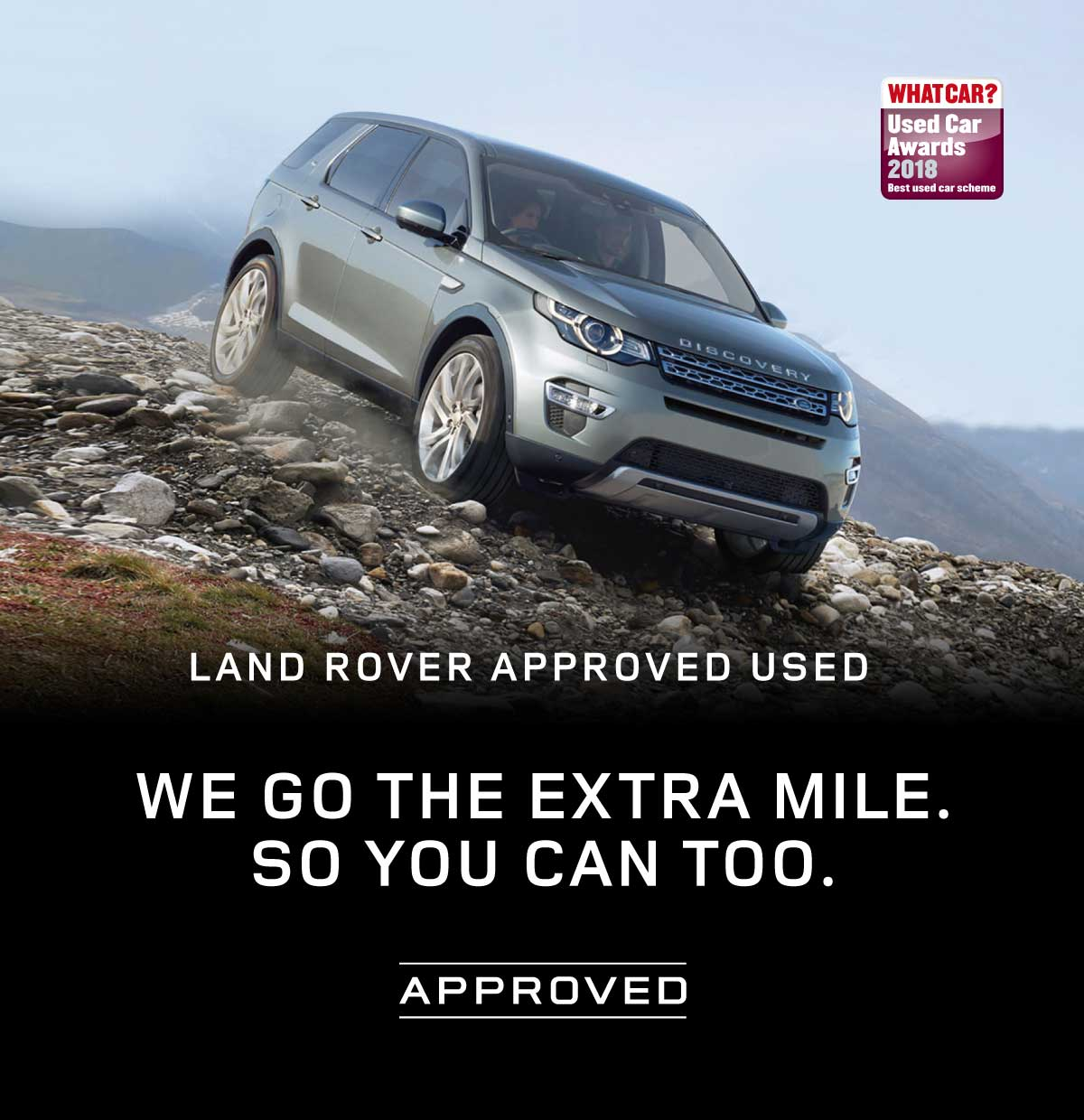 Land Rover Approved Used 200718