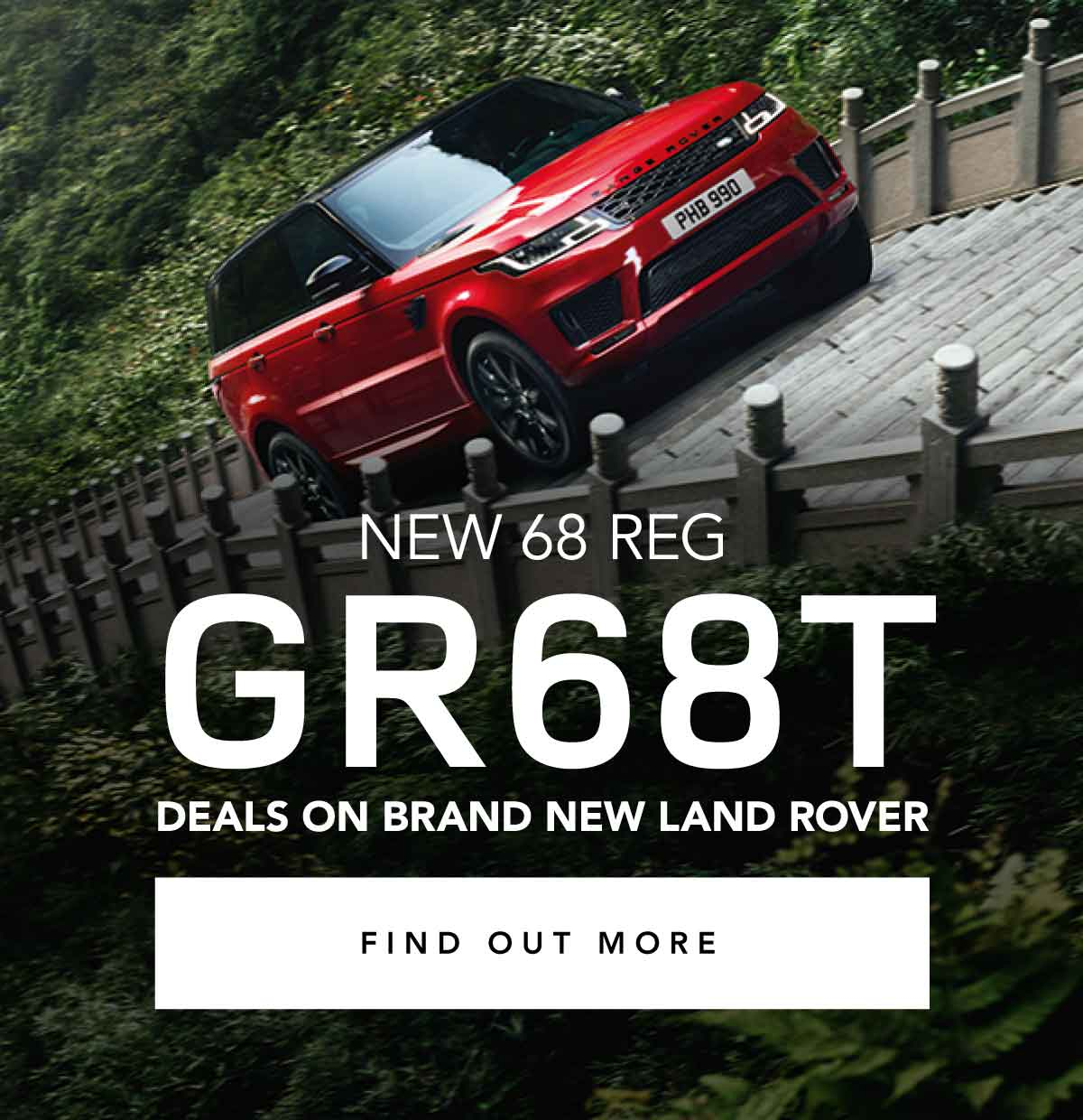 GR68T New Car August 2018 - Farnell Land Rover