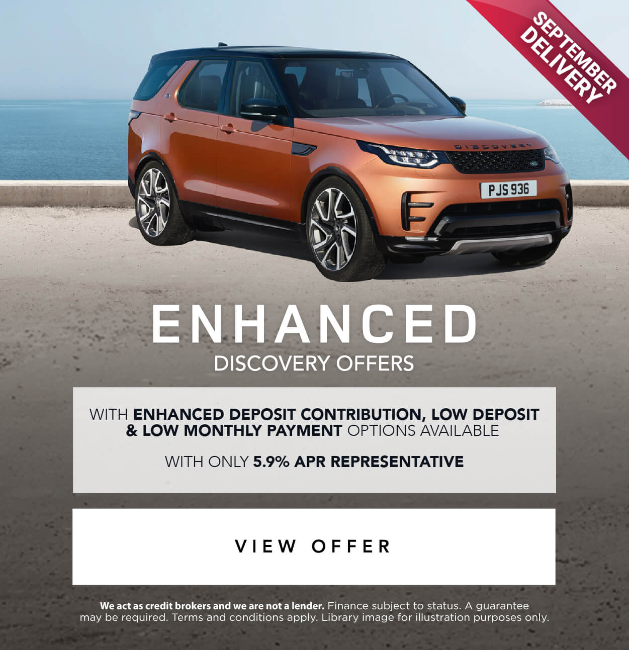 Land Rover Enhanced Discovery