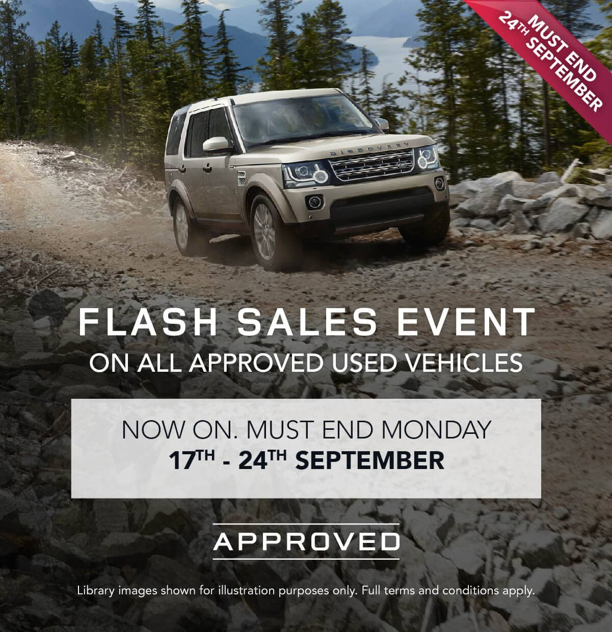 Land Rover Flash Sale