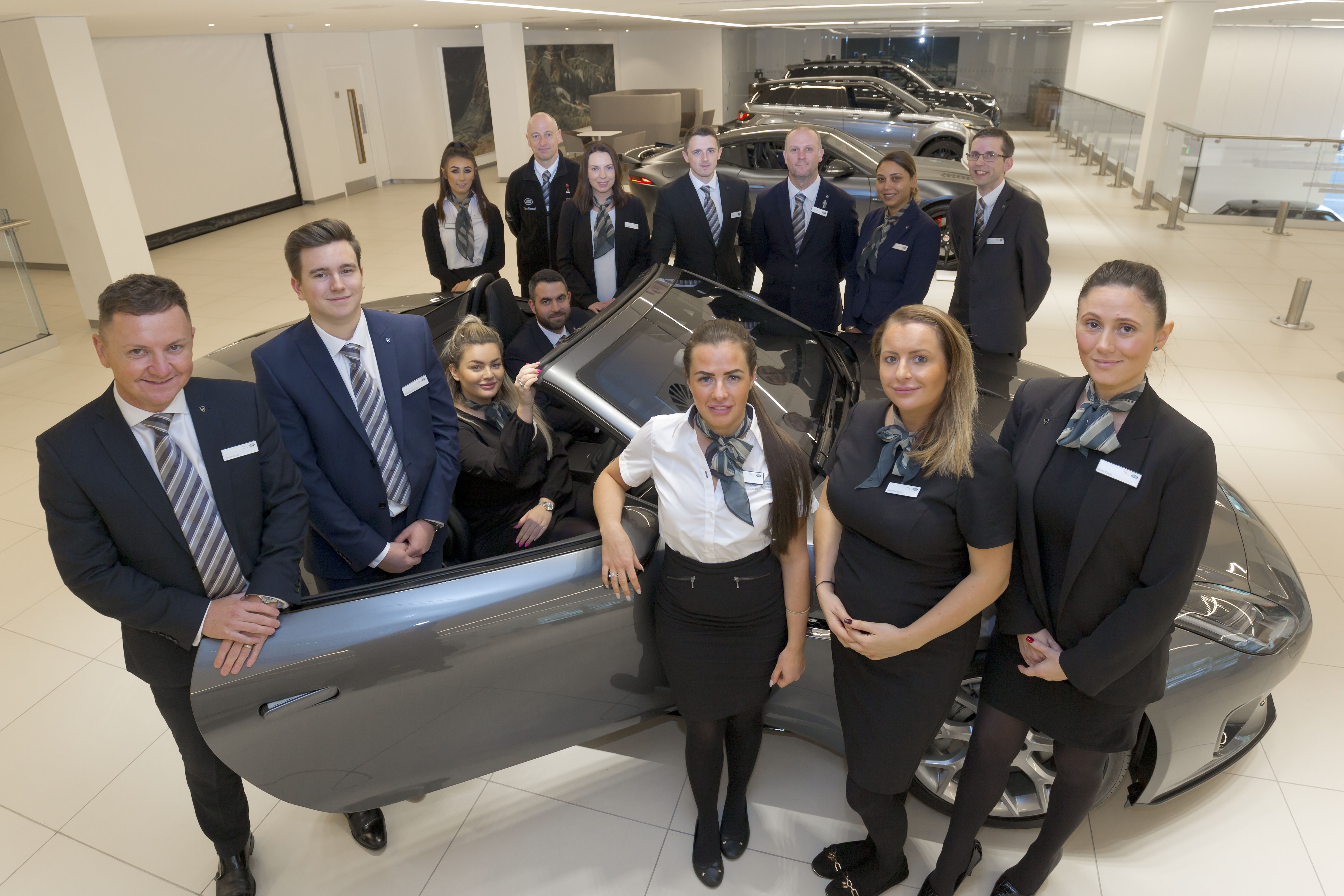 Farnell Jaguar Land Rover Bolton dealership creates 23 jobs