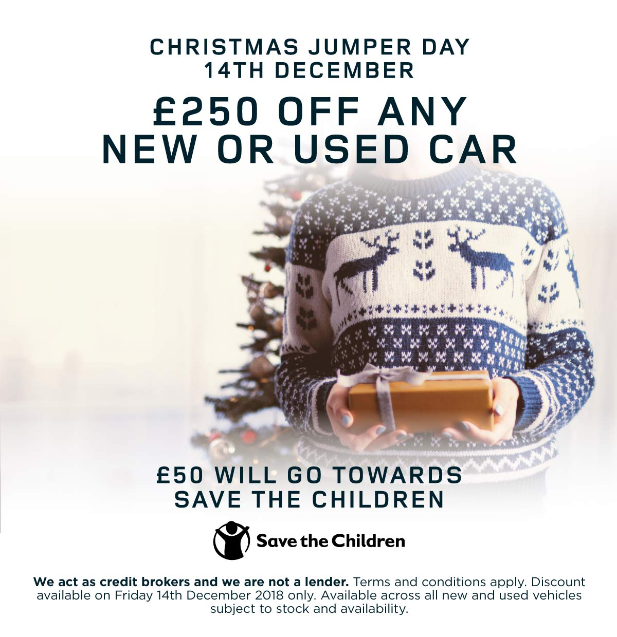 Land Rover Christmas Jumper 061218