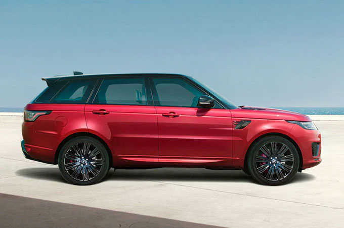 New Land Rover Range Rover Sport