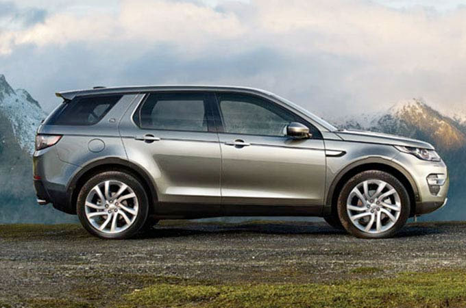 New Land Rover Range Rover Discovery Sport
