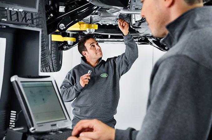 Land Rover Body Repairs