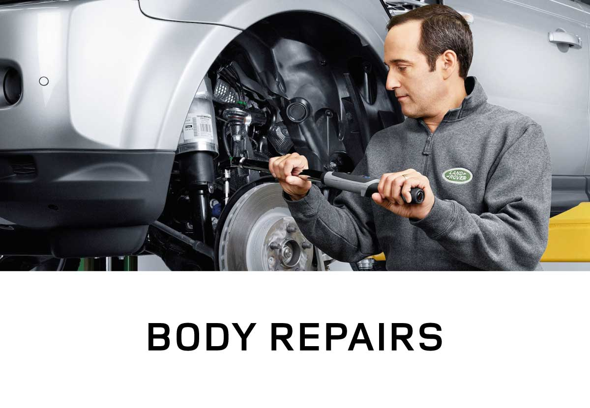 Land Rover Body Repairs
