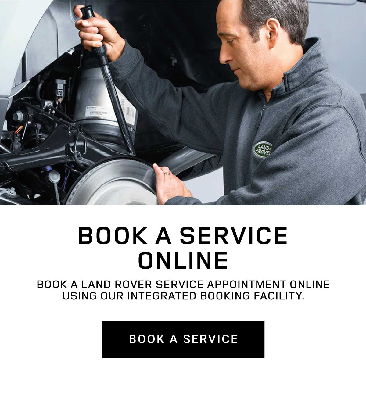 Land Rover Book a Service