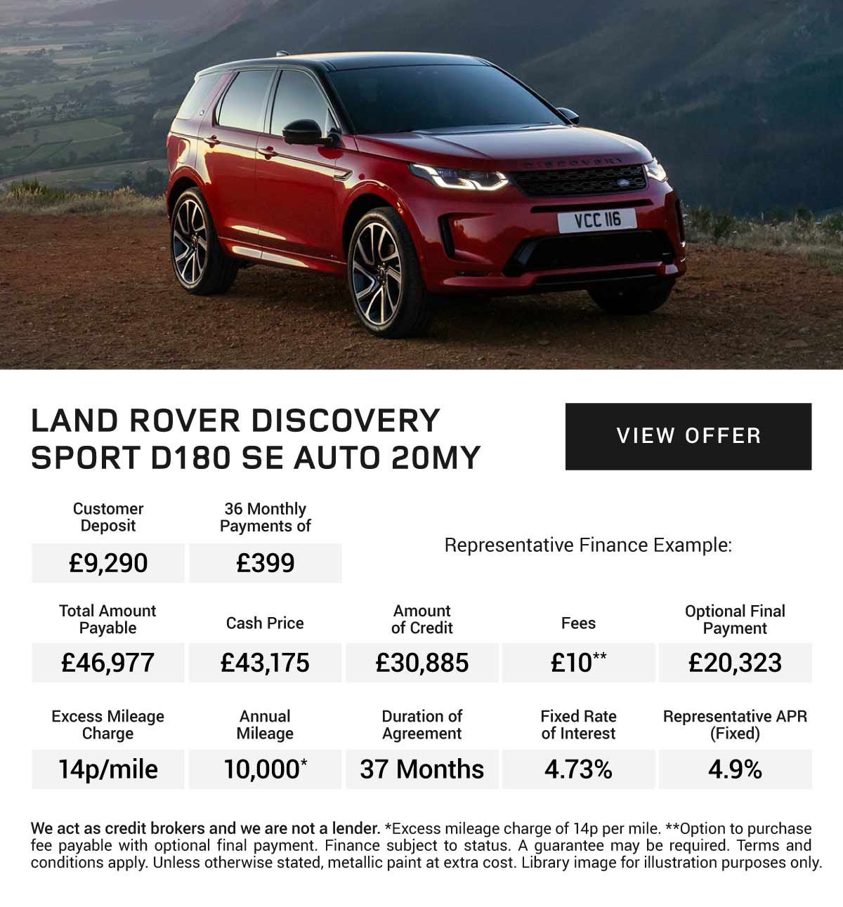 [Land Rover Discovery] LR Discovery Sport 050719 Banner 1