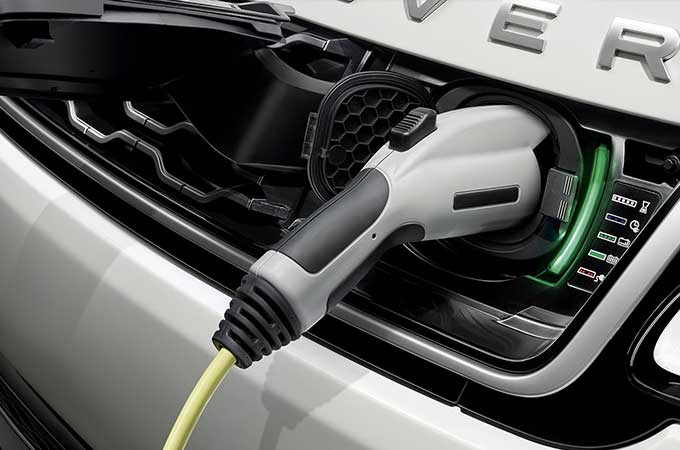 Land Rover Electric Hybrid Vehicles