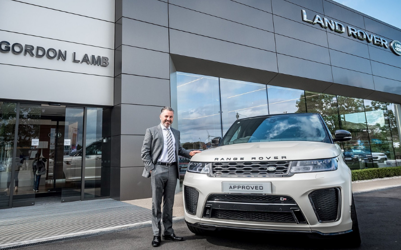 New Head of Business At Gordon Lamb Chesterfield Land Rover