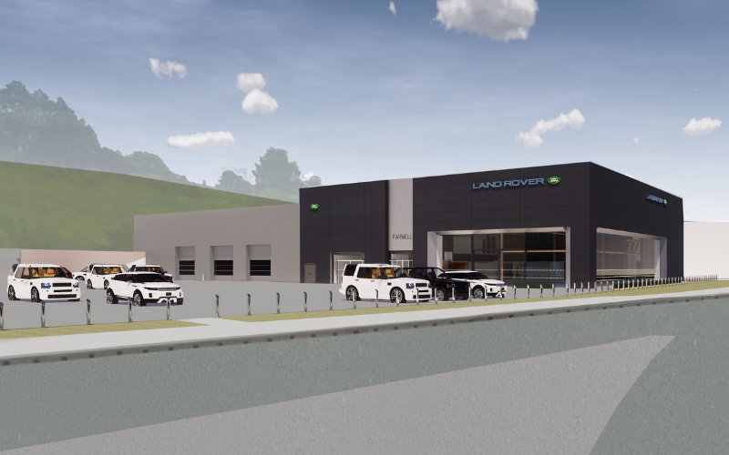 Major Investment Works Start At Farnell Land Rover Bradford