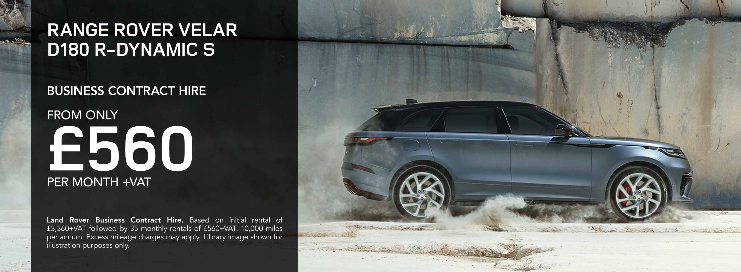 Land Rover Velar Business Contract Hire Offer