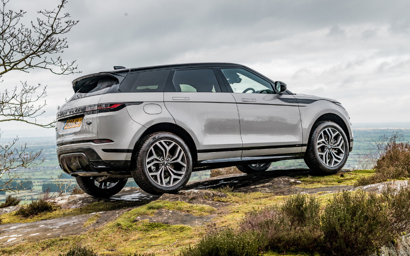 The Range Rover That �Evoques� Style And Confidence
