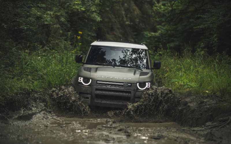New Images Reveal The All-New Land Rover Defender Is Unstoppable