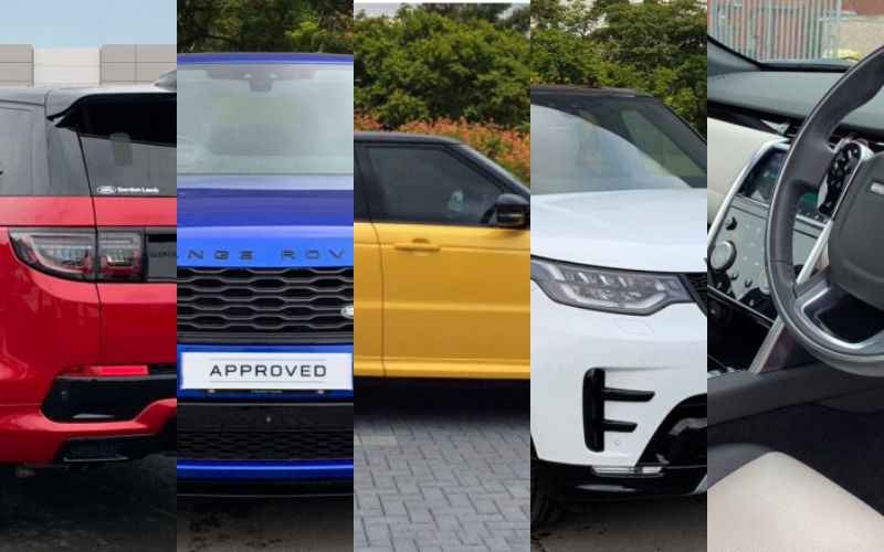 Farnell Land Rover's Top 5 Approved Used Picks