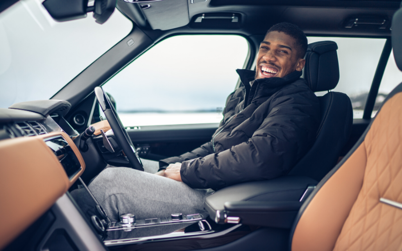 Land Rover And Anthony Joshua Celebrate 50 Years Of Range Rover