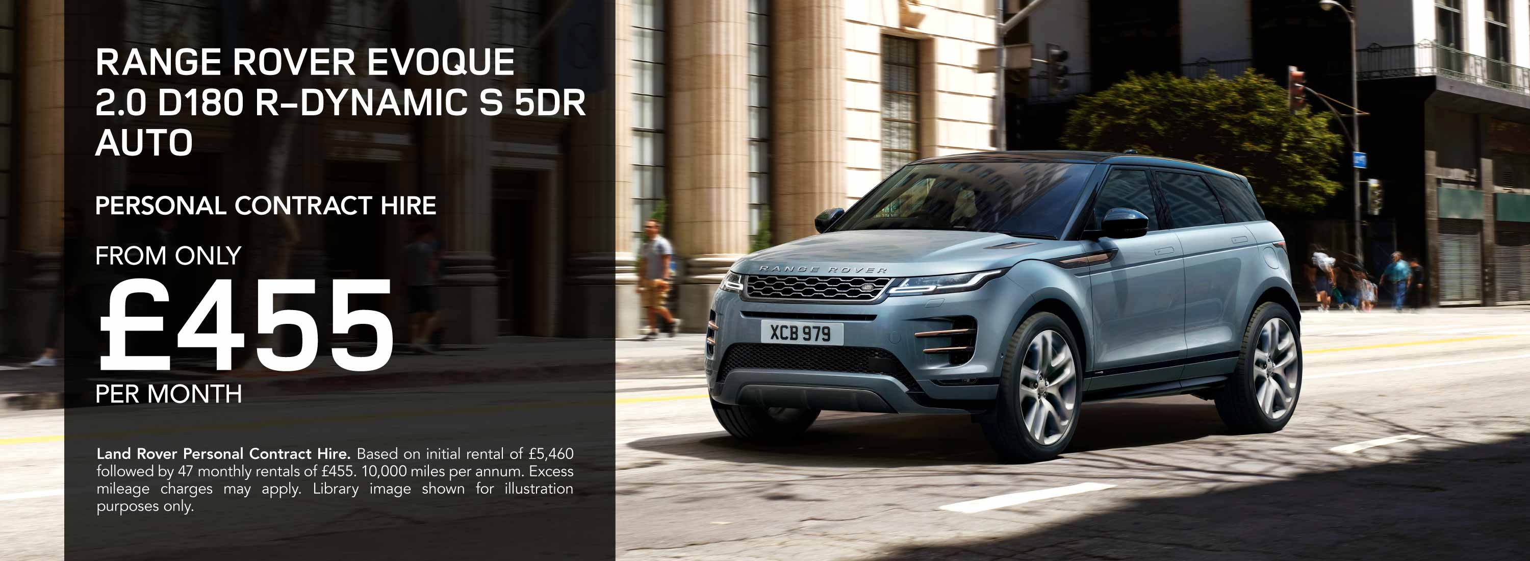 Range Rover Evoque Personal Contract Hire Offer