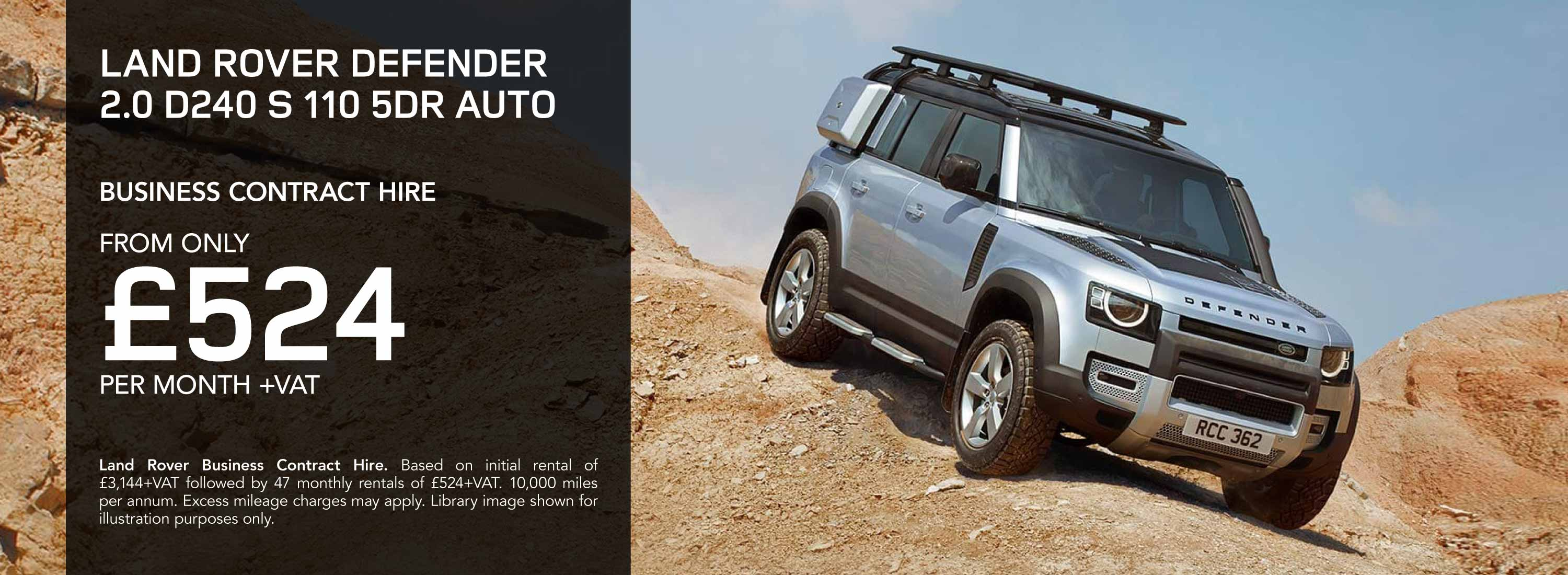 Land Rover Defender Business Contract Hire Offer