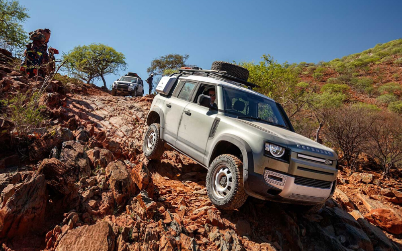 Top Gear Reviews The All New Land Rover Defender In Namibia, Africa