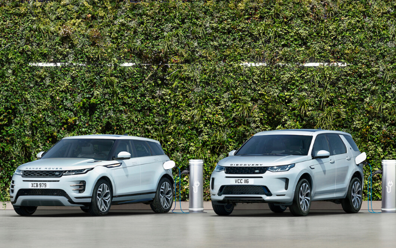 Evoque and Discovery Sport Now Available as Plug-in Hybrids