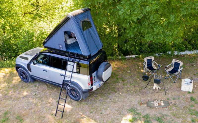 Summer Ready: All-New Roof Tent Is Now Available For Land Rover Defender