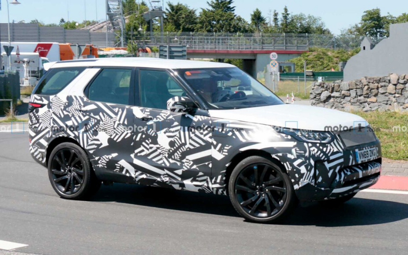 First Sight Of The 2021 Land Rover Discovery