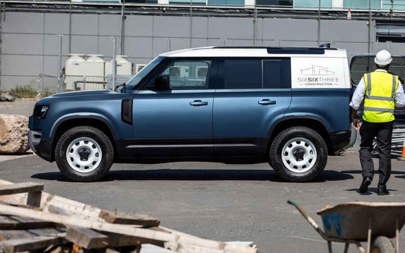 Meet The All New Land Rover Defender Hard Top - The Ultimate Commercial Model
