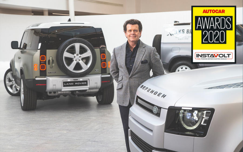 Land Rover Design Director Wins Innovation Prize At Autocar Awards 2020
