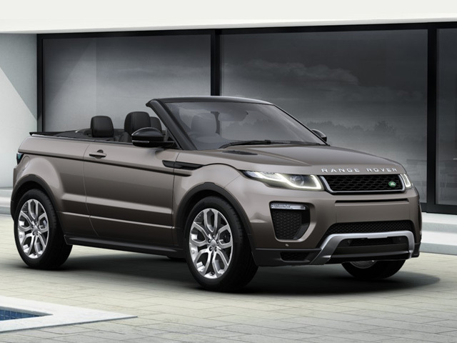 new land rover range rover evoque convertible 2 0 td4 se. Black Bedroom Furniture Sets. Home Design Ideas