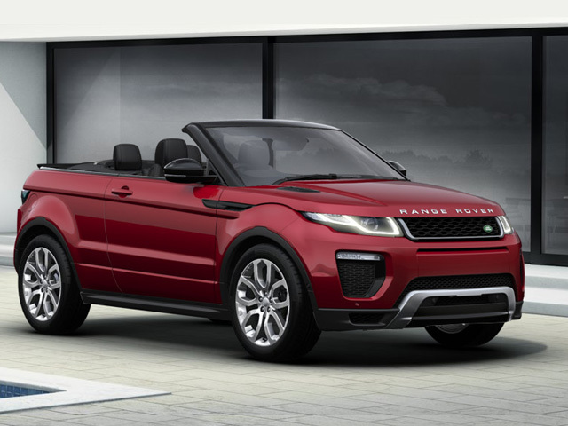 new land rover range rover evoque convertible 2 0 td4 hse. Black Bedroom Furniture Sets. Home Design Ideas