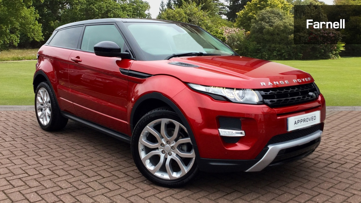 used land rover range rover evoque 2 2 sd4 dynamic 3dr diesel coupe for sale farnell land rover. Black Bedroom Furniture Sets. Home Design Ideas