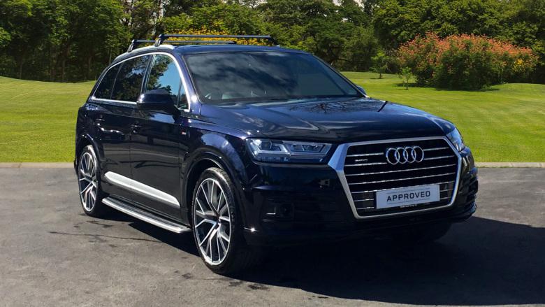 Used Audi Q7 3 0 TDI Quattro S Line 5dr Tip Auto Diesel Estate for